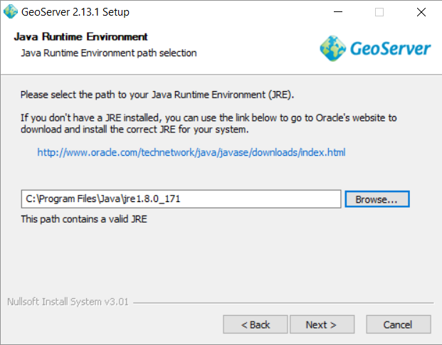 Step 2: Setting up a Geoserver - Earder